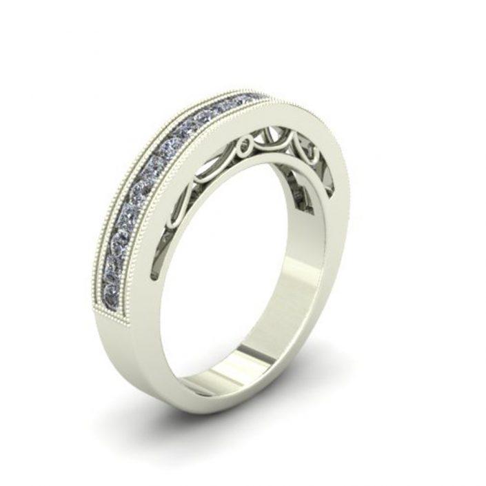 FILIGREE CUSTOM WEDDING RING
