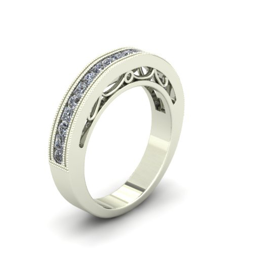 FILIGREE CUSTOM WEDDING RING