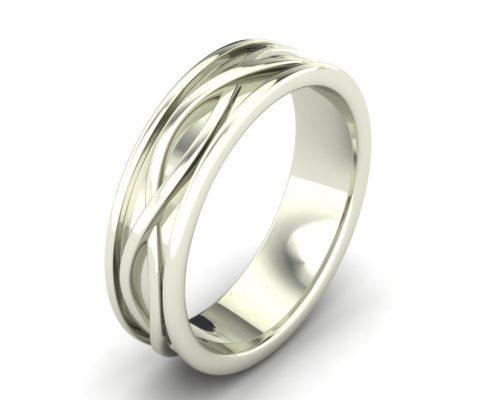 CUSTOM BRAIDED WEDDING BAND