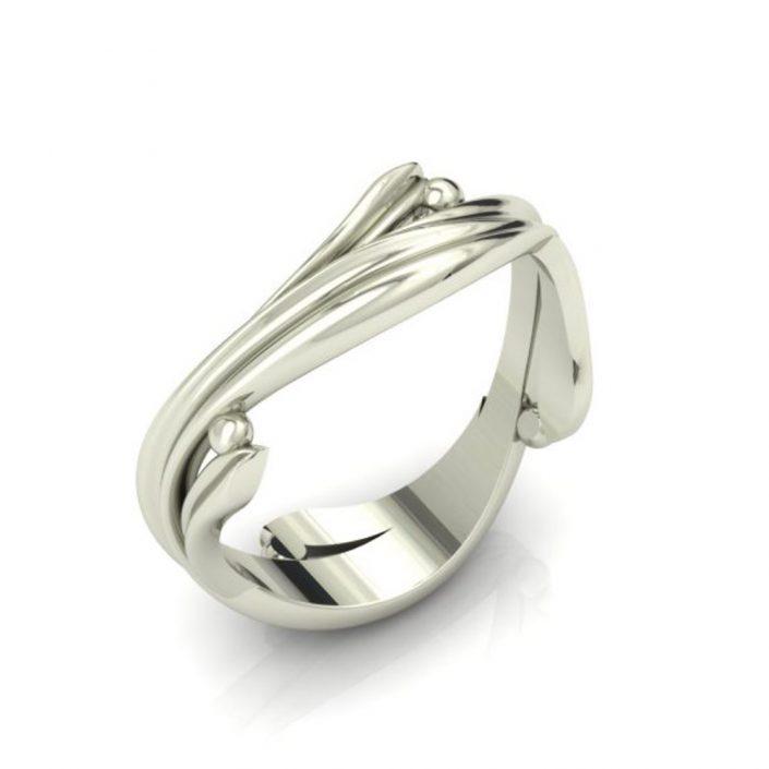 VINE CUSTOM WEDDING RING