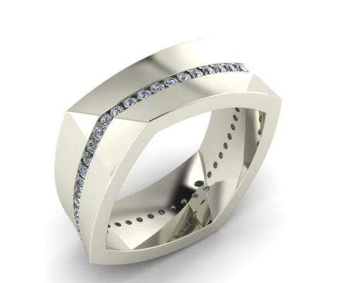 ARCHITECTURAL CUSTOM GENTS RING