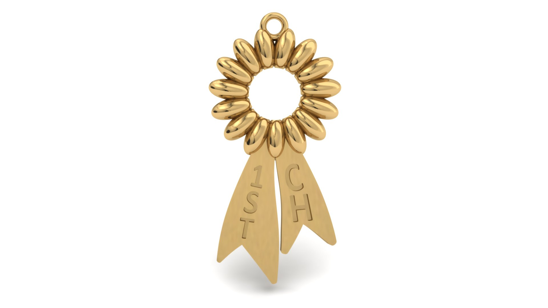 DOG SHOW RIBBON CHARM