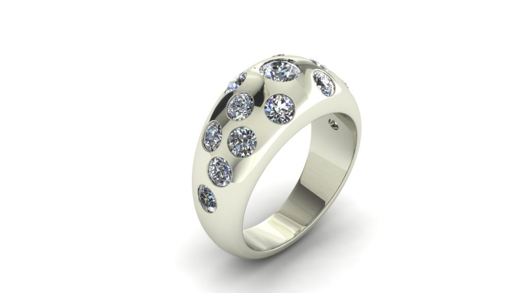 DIAMOND GALAXY RING