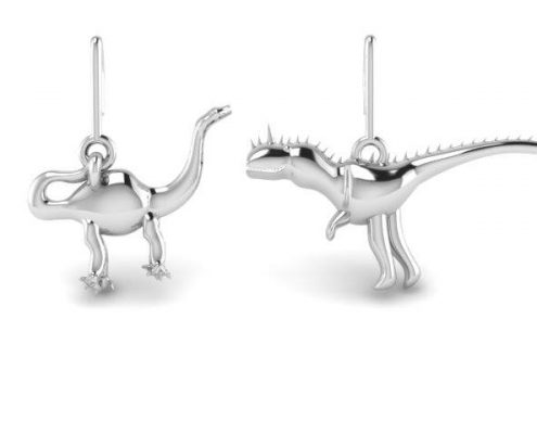 DINOSAUR CUSTOM EARRINGS
